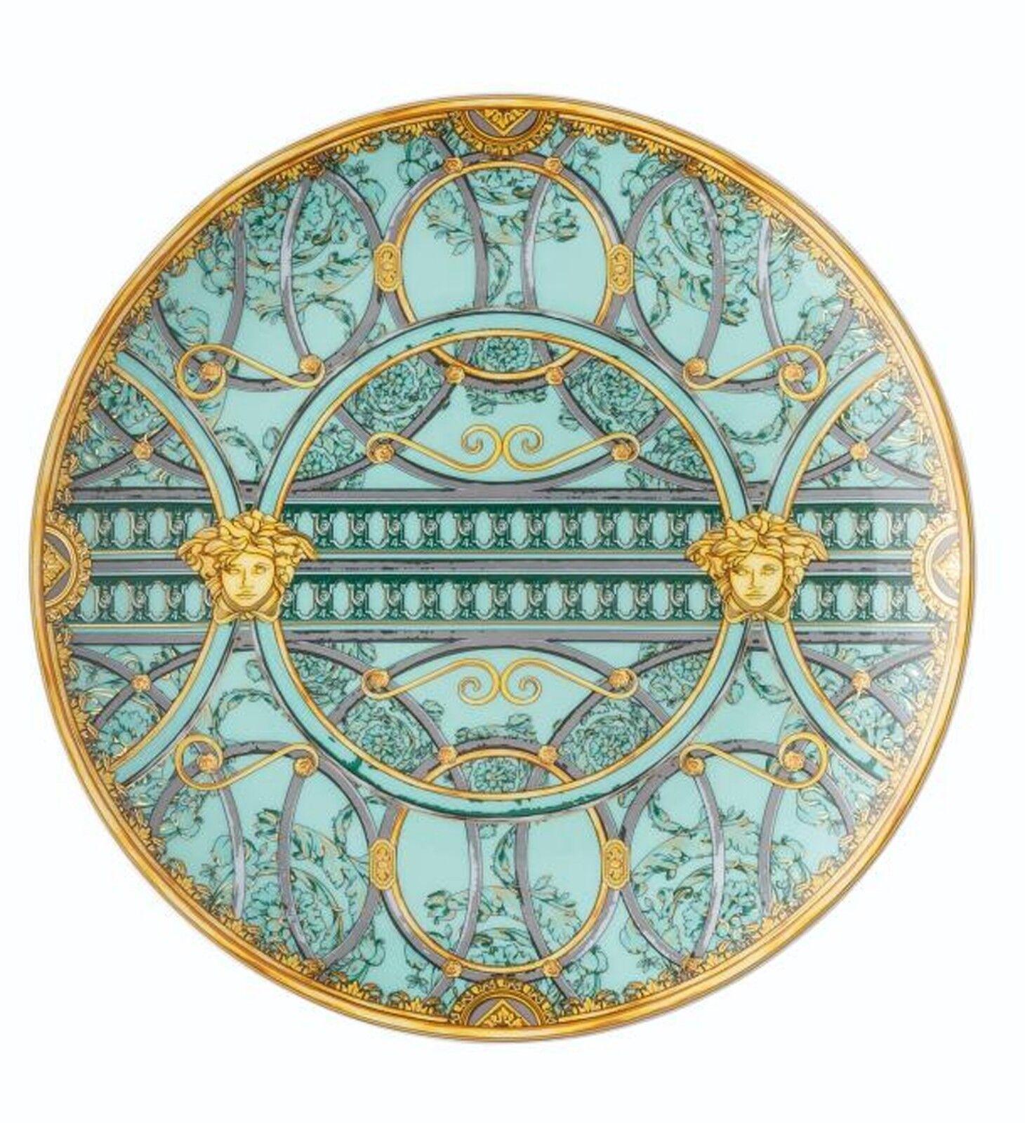 Versace Rosenthal LA SCALA DEL PALAZZO Piatto 21 cm vert
