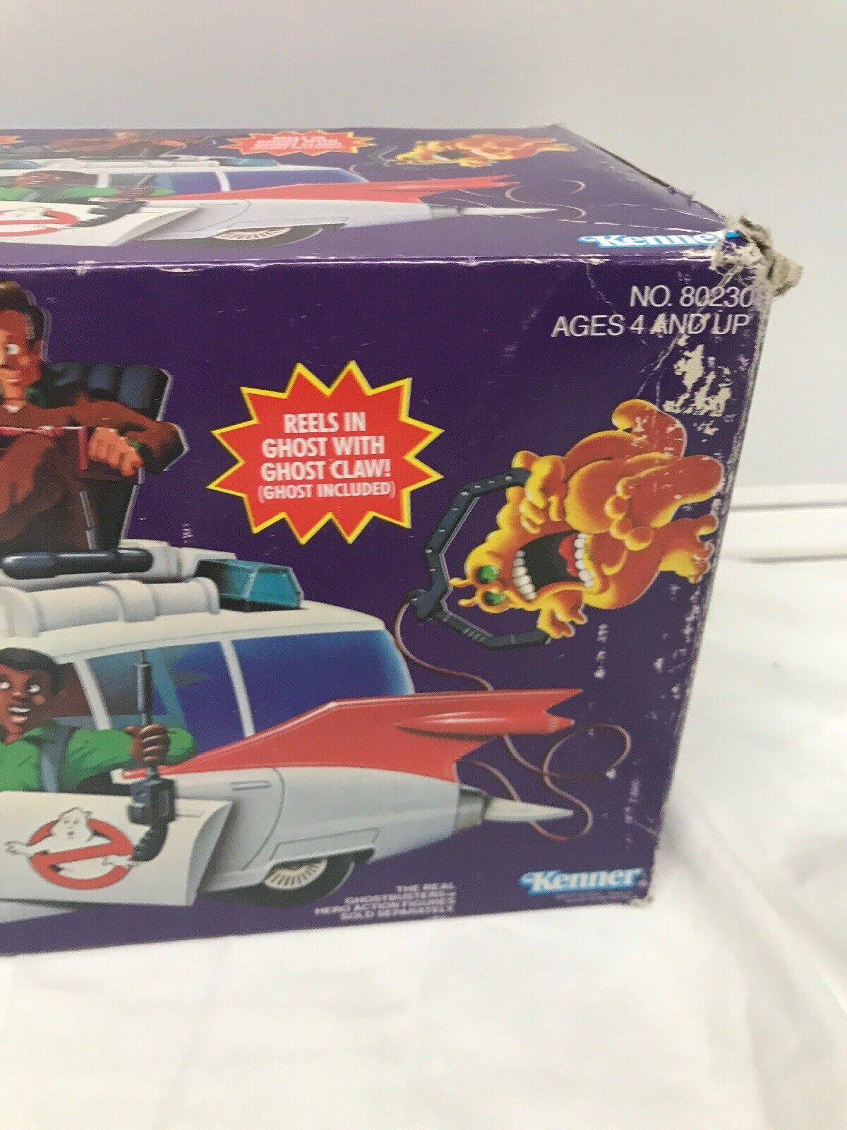 VINTAGE 1986 KENNER THE REAL GHOSTBUSTERS ECTO-1  Complete With With With Insert Look cc2bdd