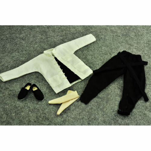 """ZYTOYS 1//6 Scale Bruce Lee Kungfu Clothes Set Fit for 12/"""" Action Figure"""