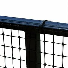Outdoor Patio Deck Balcony Pet Baby Dog Safety Gate Fence Netting 15-feet Blac