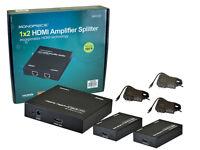 Monoprice HDBase-T HDMI Extender/1x2 Splitter (MHSP0102E)