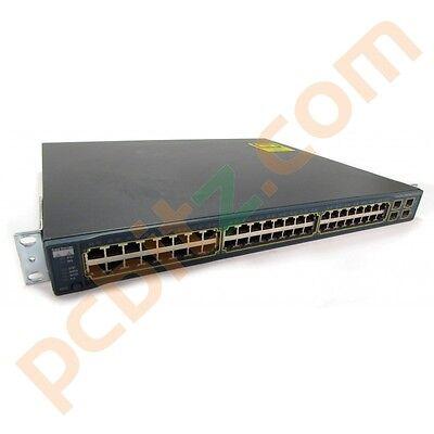 Cisco WS-C3560-48PS-S 48 Port POE 10/100 Switch