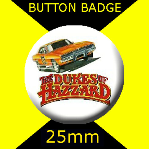 GENERAL LEE BUTTON BADGE 25mm DUKES OF HAZZARD