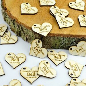 Personalised-4cm-Wooden-Love-Heart-Wedding-Favours-Invites-Table-Decorations