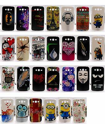 For Samsung Galaxy Grand Duos i9082 / neo i9060 9060 Girl Angel Hard Case Cover