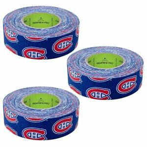 Renfrew 3 Pack Team Hockey Stick Blade Shaft Bat Sports Tape NY Rangers