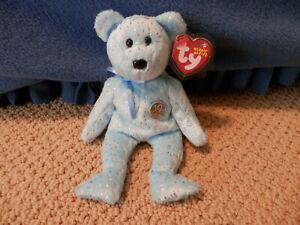 "Ty Beanie Babies - ""Decade"" Light Blue"