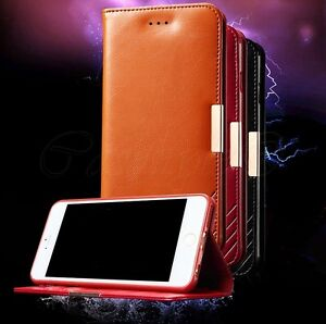 For-iPhone-6-034-Plus-034-6S-Plus-Premium-Genuine-Real-Leather-Luxury-Wallet-Case-Cover