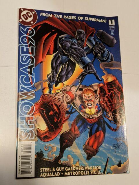 Showcase 96 #1 January 1996 DC Comics Steel Guy Garnder Warrior Aqualad
