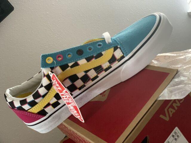 Old Skool Crazy Check Vans shoes