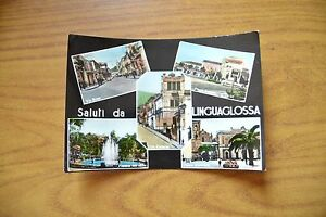 CARTOLINA-SALUTI-DA-LINGUAGLOSSA-VIA-ROMA-VIAGGIATA-1964-SUBALPINA-DD