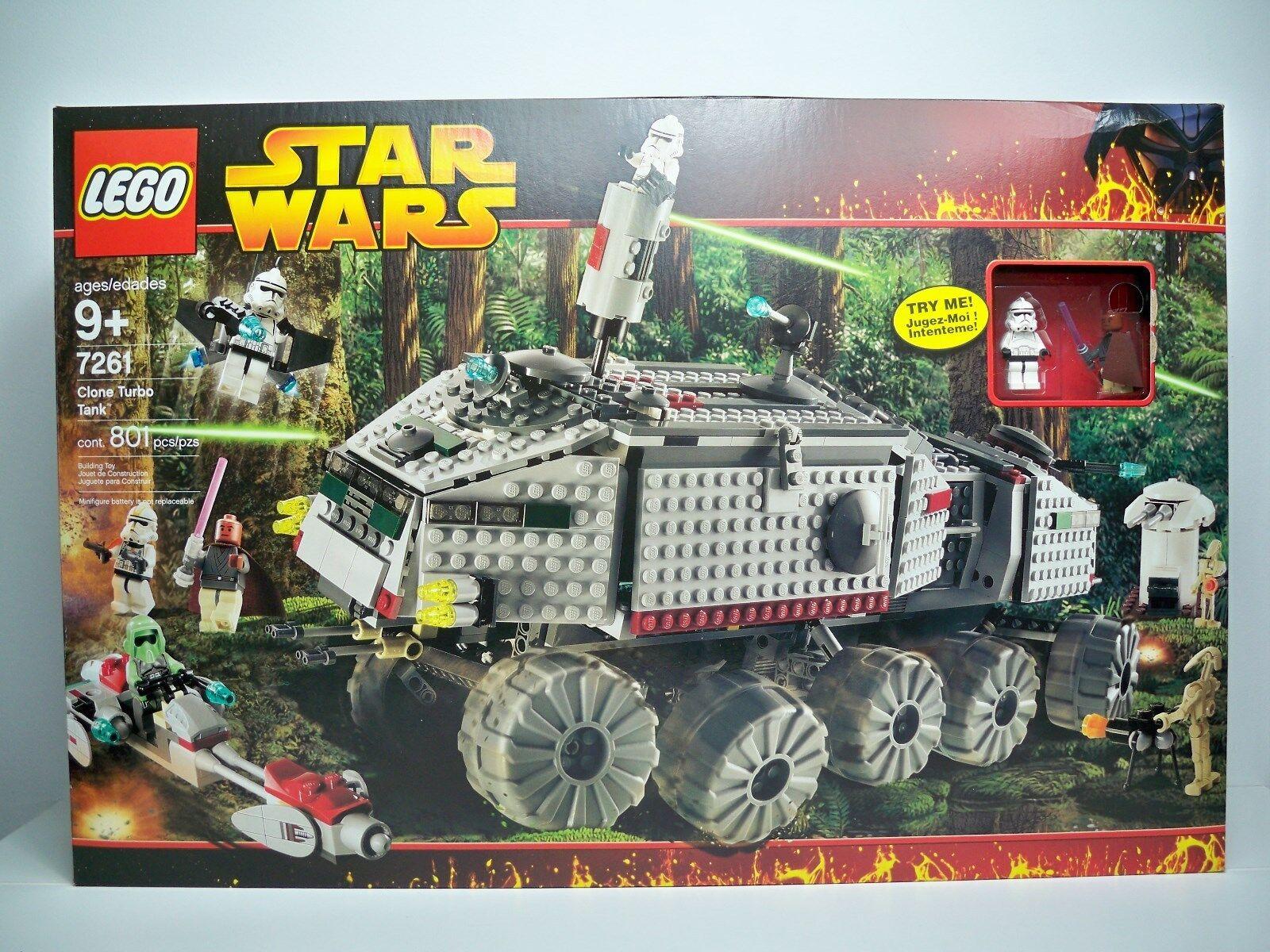 R0531712 Turbo Tank Estrella Wars Lego Misb Menta En Caja Sellada Sin Abrir