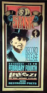 Rare-Mark-Arminski-Spank-Record-Release-1995-Concert-Poster