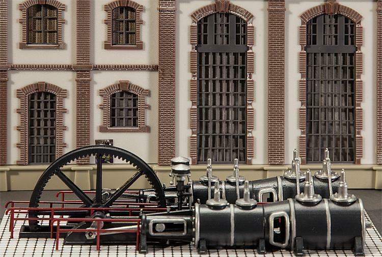 Faller Industrial Steam Engine (can be motorised - see description) HO 180383