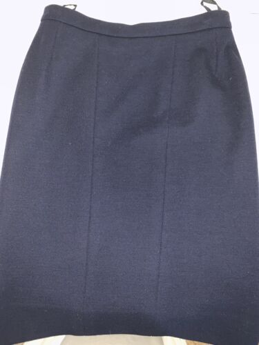 Chanel Navy Blue Pencil SKIRT