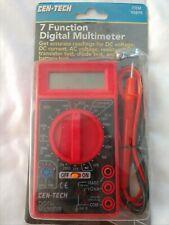 Cen Tech 7 Function Digital Multimeter New