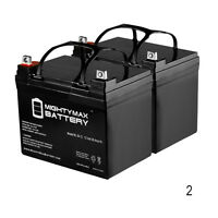 Mighty Max 12v 35ah Sla Battery Replaces Wilderness Tarpon 100 Kayak - 2 Pack on sale