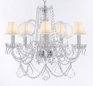 Murano venetian style chandelier crystal lighting fixture pendant image is loading murano venetian style chandelier crystal lighting fixture pendant aloadofball Image collections