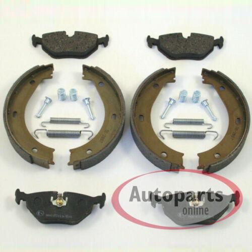 Bmw 5er e39 Bremsen Handbremse Set mit Zubehör Satz hinten für die Hinterachse