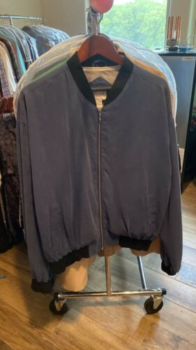 Tuttle Bomber Jacket  Blue XL