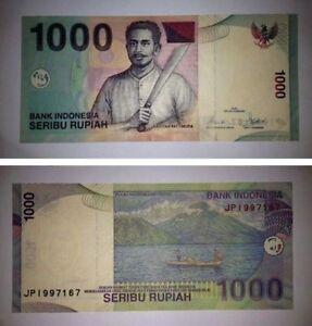 Image Is Loading Rp 1000 Seribu Rupiah 2000 Indon Indonesia Banknote