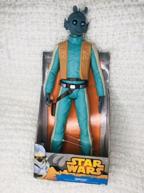 Star Wars Greedo 18 pouces Big Figure Jakks Pacific NEW IN BOX