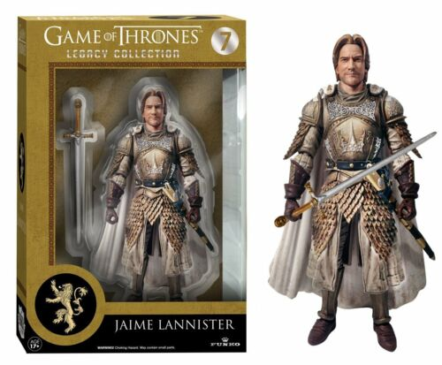 Game of Thrones NEW IN BOX * Jaime Lannister * Nouveau Funko Legacy Figurine Statue Figure
