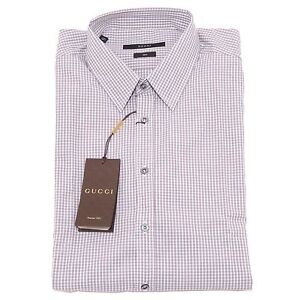 best service 14142 ced9b Details about 4755O camicia manica lunga slim GUCCI camicie uomo shirt men