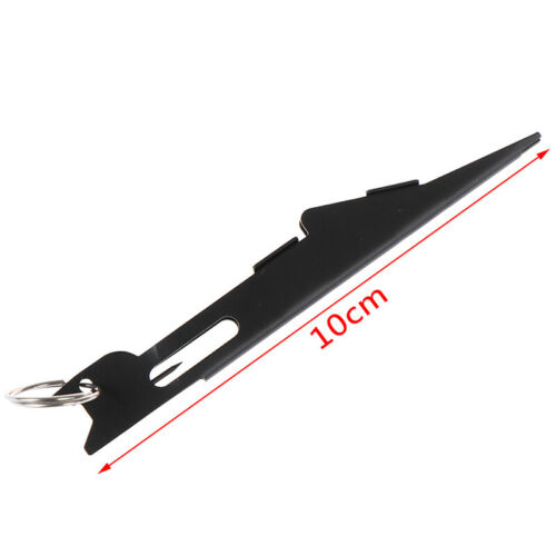 Nail Knot Tying Tool /& Loop Tyer Hook Tier For Fly Fish Tackle Hook Knotter CZXI