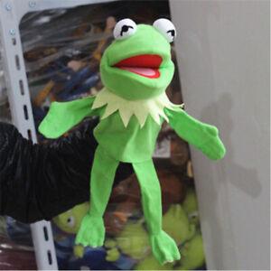 d0e4e8dc31 Das Bild wird geladen Kermit-der-Frosch-Handpuppe-Pluesch-Jim-Henson-Muppets -