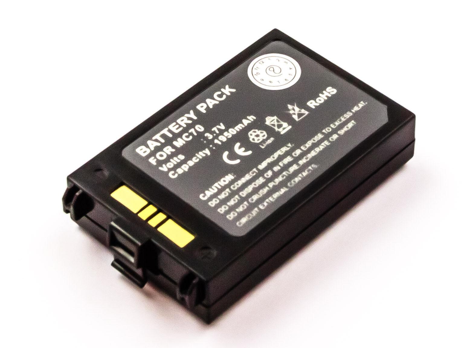 Batterie Batterie Batterie pour Symbole Mc70 Ersetzt 82-71363-03/82-71365-01/Btry-mc70eab00 747d02