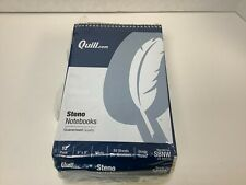 Quill Steno Notebook 6 X 9 Gregg Ruled 80 Sheets 12 Count Free Shipping