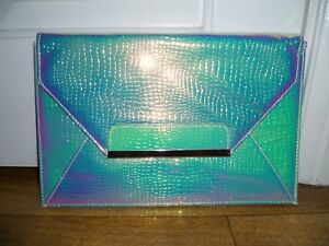Ladies-Special-Occasion-Evening-Handbag-Clutch-Pearlescent-Miss-Selfridge-BNWT