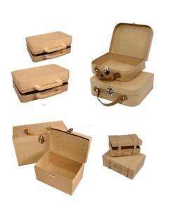 PAPP-ART-REISE-KOFFER-Decopatch-Decoupage-Pappmache-Pappart-Verpackung