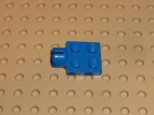 PLATE BLUE x 1 3730 S Modified 2 x 2 with Towball Socket PM430 LEGO