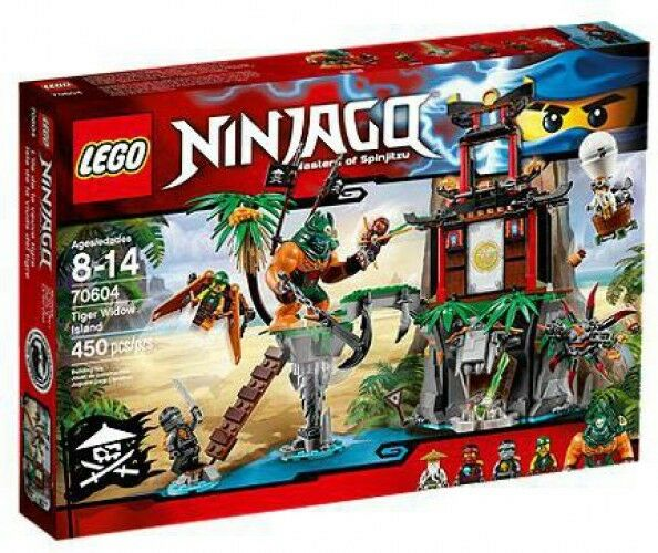 LEGO Ninjago Tiger Widow Island Set  70604