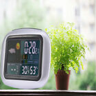 Wireless Weather Station Clock Digital Temperature Humidity Meter Indoor/Outdoor