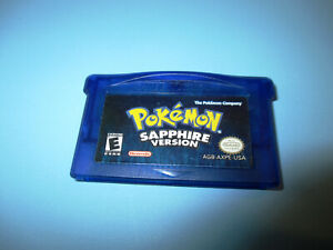 Pokemon: Sapphire Version Authentic Nintendo Game Boy Advance SP Game