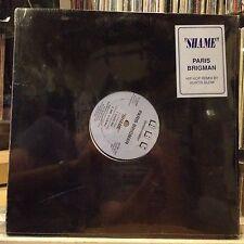 """[EDM]~SEALED 12""""~PARIS BRIGMAN~KURTIS BLOW~Hip Hop Remix~[x4 Mixes/Remixes]~"""