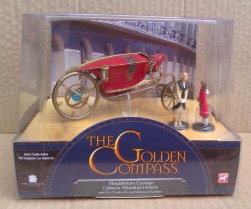 THE GOLDEN COMPASS BOXED FIGURES CORGI VEHICLES /& ALETHIOMETER.