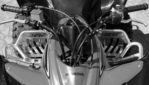 XFR Honda TRX400EX TRX 400EX 400X Pro Peg II FOOT PEG Nerf bars 2008-14 PSE104B