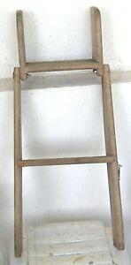 Precision-Boat-Works-1983-Seaforth-Islander-Sail-Boat-Folding-Teak-Step-Ladder