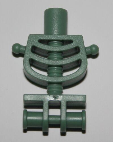 Lego Harry Potter Sand Green Skeleton Torso Thin Shoulder Pins