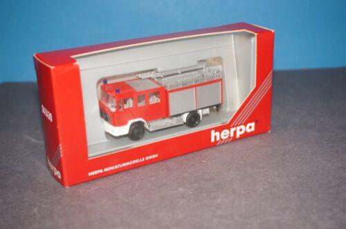 """BOX-02 Herpa 041430 M.A.N M90 Löschfahrzeug /""""Feuerwehr/"""" OVP"""