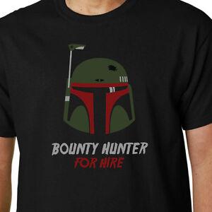 70b65385a Boba Fett t-shirt STAR WARS BOUNTY HUNTER JEDI EMPIRE FORCE AWAKENS ...