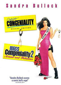 Miss Congeniality 1 2 Armed And Fabulous Dvd New 883929082186 Ebay