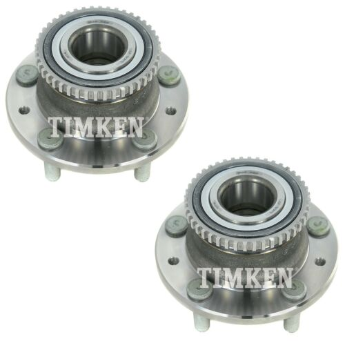 Pair Set Of 2 Rear Timken Wheel Bearing And Hub Kits for Ford Mazda Mercury FWD