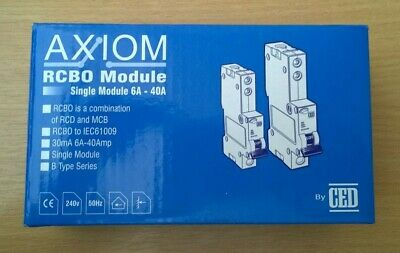 RCB040 RCB016 CED AXIOM B Type Single  RCB0 Module RCB010 RCB020
