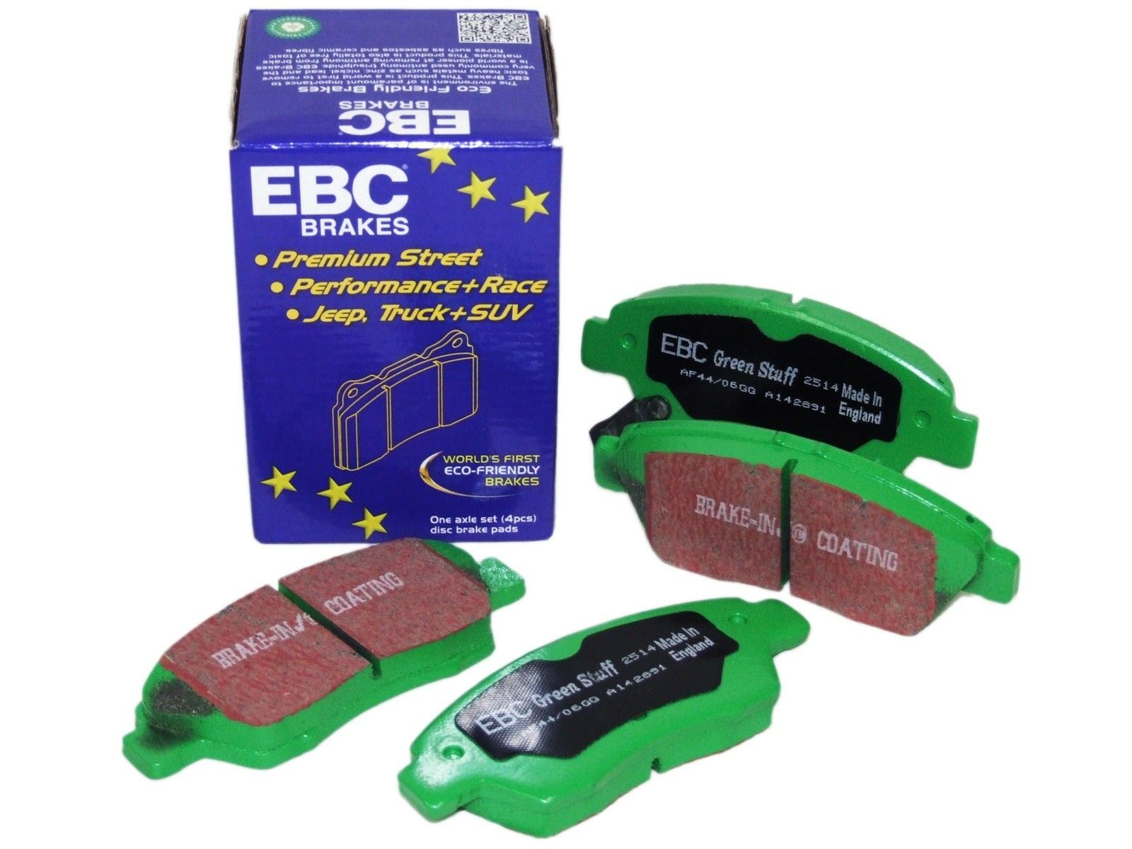 EBC Brakes DP21165 Greenstuff 2000 Series Sport Brake Pad