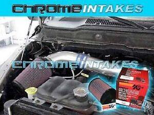 00-04 05 06 07-10 DODGE DAKOTA//DURANGO//RAM 1500 3.7L V6 4.7L V8 AIR INTAKE S+K/&N